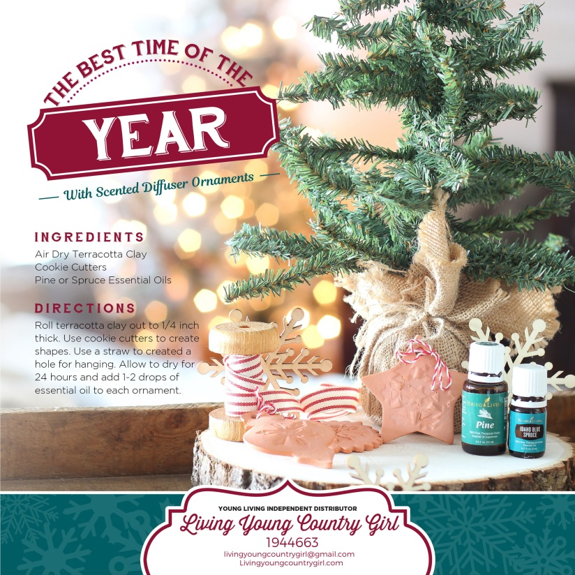 Young Living Christmas Tree.Diy Christmas Gift Ideas With Essential Oils Living Young