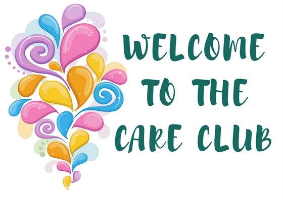Welcome to the Care Club bold