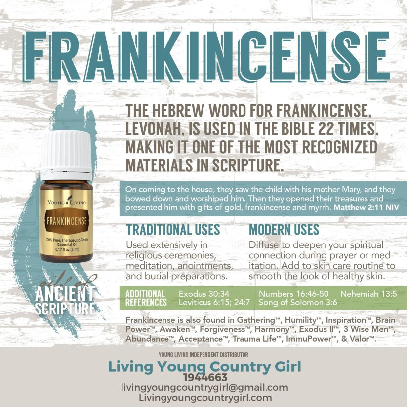 Essential Oils – Living Young Country Girl